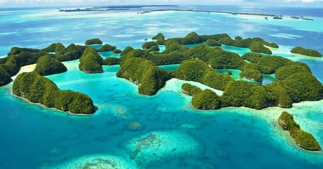 Geografía Pregunta Trivia: ¿En qué país están ubicadas las islas Chelbacheb?