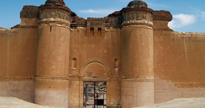 Geografía Pregunta Trivia: ¿En qué país se encuentra el palacio El Qasr al-Hayr al-Sharqi?