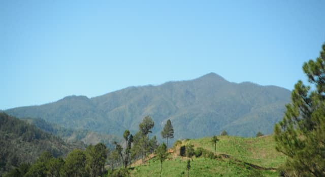 Geografía Pregunta Trivia: ¿En qué país se encuentra el Pico Duarte?