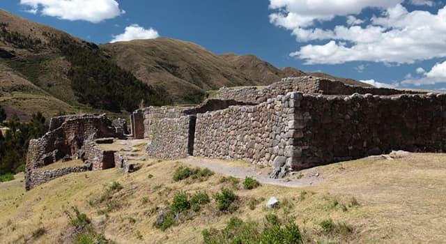 Geografía Pregunta Trivia: ¿En qué país se encuentra el sitio arqueológico Puca Pucara o Pukapukara?
