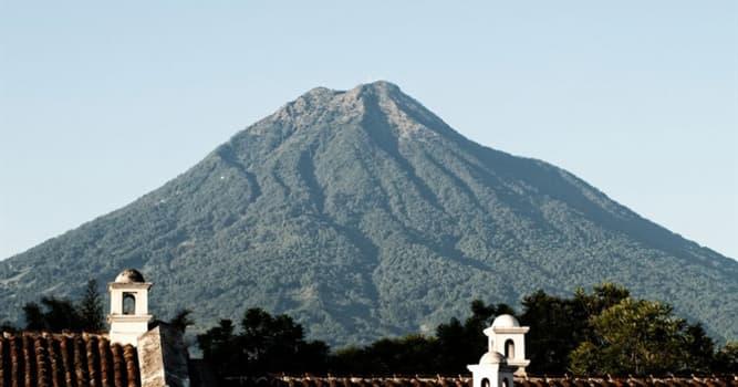 Geografía Pregunta Trivia: ¿En qué país se encuentra el Volcán de Agua?