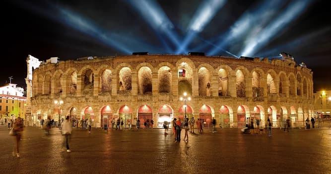 Cultura Pregunta Trivia: ¿En qué país se encuentra la Arena de Verona?