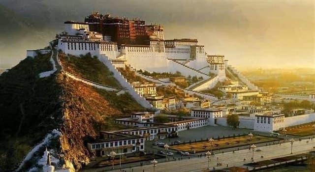 Cultura Pregunta Trivia: ¿Cuál era el hogar del Dalai Lama hasta su exilio?