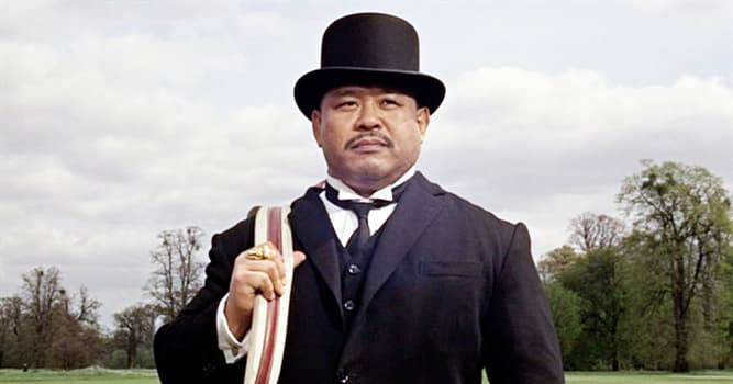 """Sport Trivia Question: Harold Sakata (Oddjob in the film """"Goldfinger"""") won an Olympic silver medal at which sport?"""