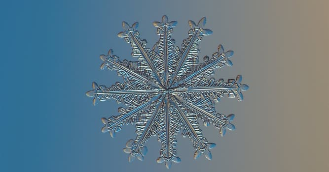 Nature Trivia Question: How wide was the largest snowflake ever recorded?