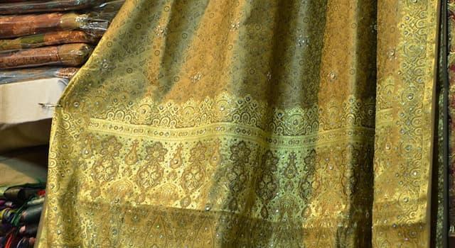 Historia Pregunta Trivia: ¿En qué país se hizo por primera vez ropa de seda?