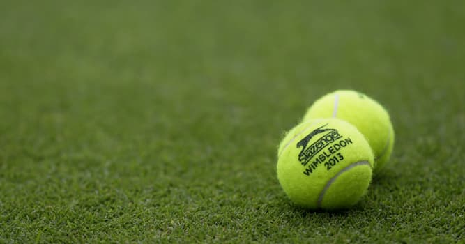 Sport Trivia Question: In which year did Wimbledon start using yellow tennis balls?