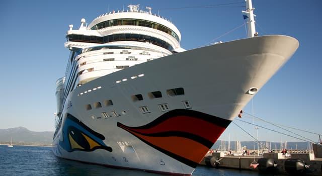 Sociedad Pregunta Trivia: ¿Cuál es la parte delantera del casco de un barco?