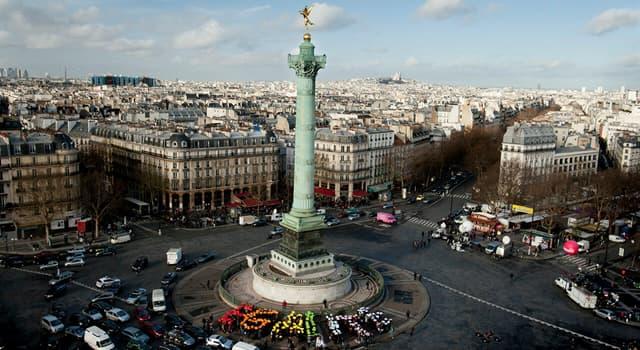 Geografía Pregunta Trivia: ¿Qué plaza en París fue nombrada en honor a una fortaleza destruida durante la Revolución Francesa?