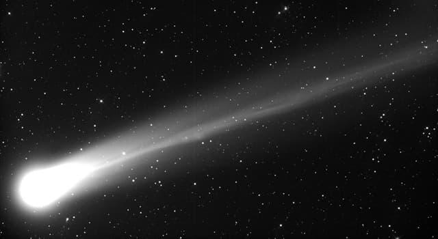 Сiencia Pregunta Trivia: ¿Cómo se llama el rastro que deja un cometa?
