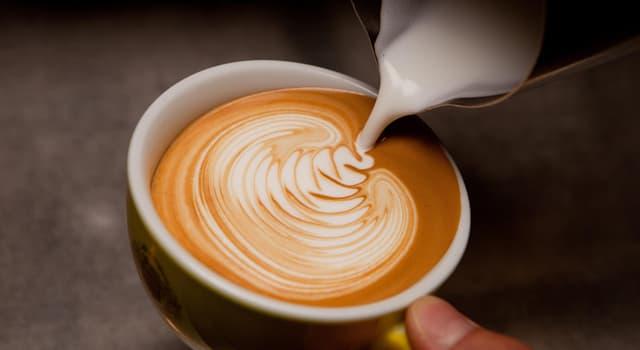 Cultura Pregunta Trivia: ¿Cómo se llama el método de preparación de café con el que se realizan diseños en su superficie?