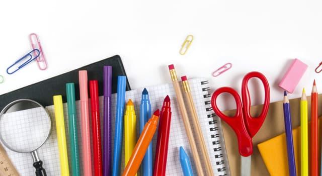 Sociedad Pregunta Trivia: ¿Qué utensilio se utiliza para unir hojas de papel o material similar?