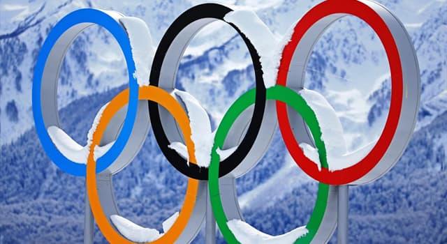 Deporte Pregunta Trivia: ¿Cuál de los siguientes deportes se incluye tradicionalmente en los Juegos Olímpicos de Invierno?