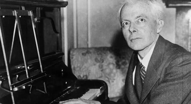 Cultura Pregunta Trivia: ¿Quién fué Béla Bartók?
