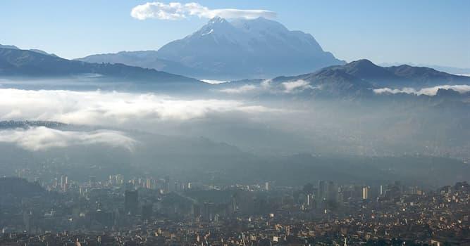 Geographie Wissensfrage: La Paz ist der Regierungssitz von ... ?
