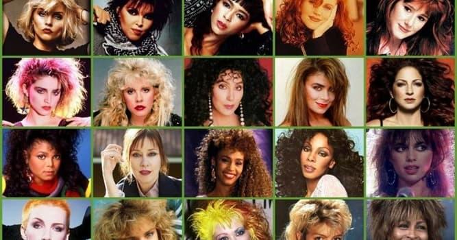 """Cultura Pregunta Trivia: ¿De qué cantante es el hit de los 80 """"Material Girl""""?"""