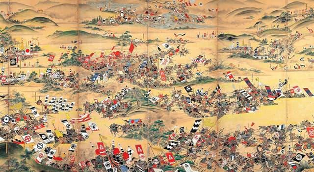 Historia Pregunta Trivia: ¿Qué batalla, librada en el año 1600 d.C, significó la unificación de Japón?