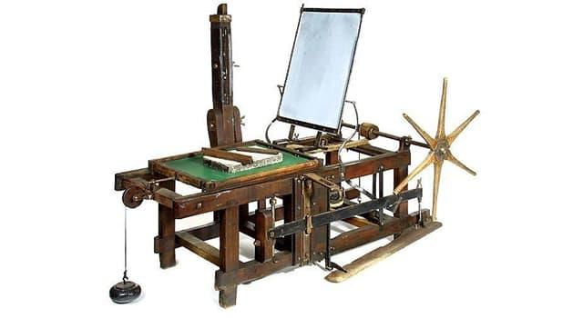 Сiencia Pregunta Trivia: ¿Qué es la litografía?