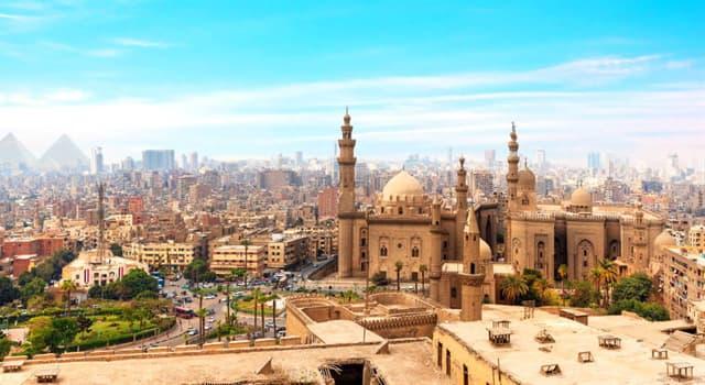 Geografía Pregunta Trivia: ¿Qué es Misr al-Fustat?