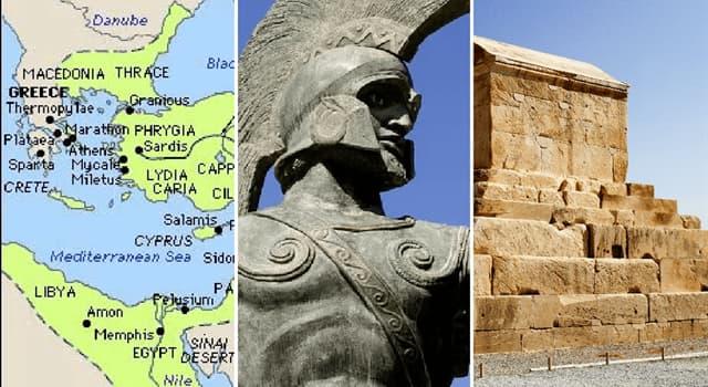 Historia Pregunta Trivia: ¿Qué imperio antiguo estaba ubicado en el territorio del actual Irán?