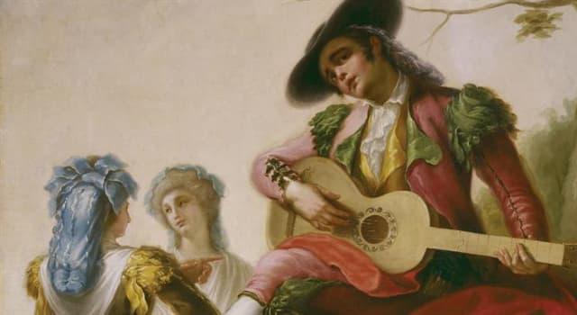 """Cultura Pregunta Trivia: ¿Qué pintor español es autor del cuadro """"El majo de la guitarra""""?"""