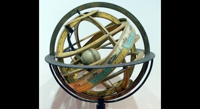 Сiencia Pregunta Trivia: ¿Qué tres instrumentos, ya utilizados por Ptolomeo, utilizó Copérnico para sus observaciones astronómicas?