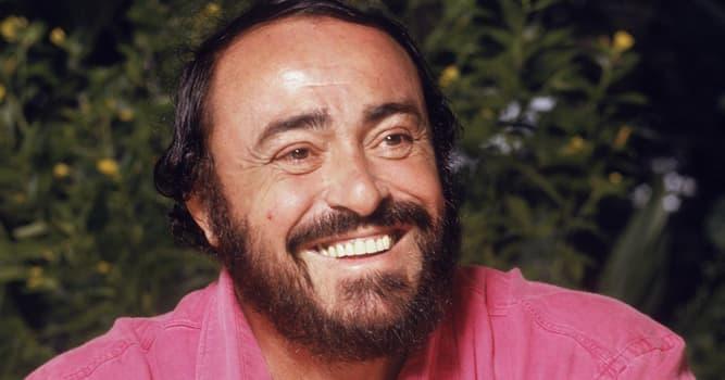 Cultura Pregunta Trivia: ¿Quién fue Luciano Pavarotti?