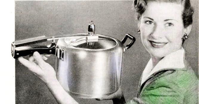 Сiencia Pregunta Trivia: ¿Quién inventó la olla a presión?