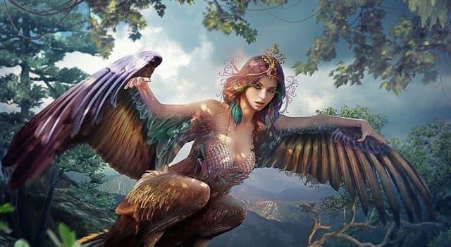 Cultura Pregunta Trivia: ¿Quiénes eran las Harpías en la mitología Griega?
