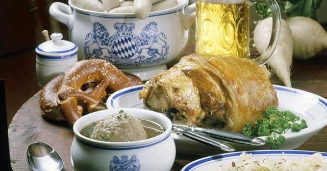 Kultura Pytanie-Ciekawostka: Sauerkraut to niemiecka potrawa z którego kiszonego warzywa?