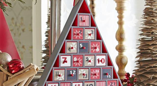 """Cultura Pregunta Trivia: ¿Cuántas """"ventanas"""" contiene tradicionalmente un calendario de Adviento?"""