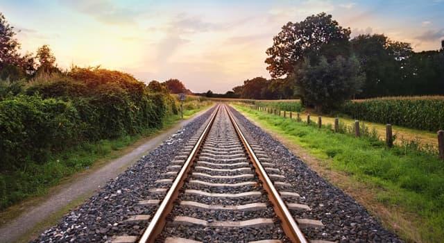 Sociedad Pregunta Trivia: ¿Qué país tiene la red ferroviaria más pequeña del mundo?