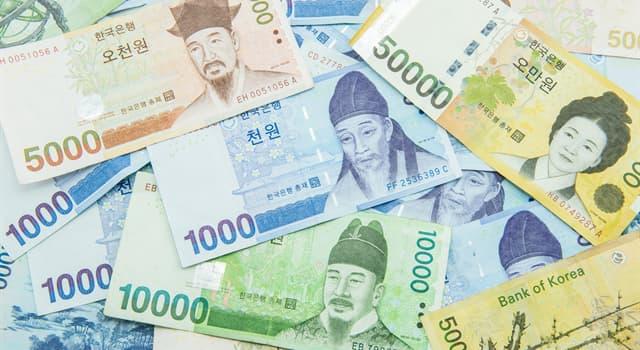 Sociedad Pregunta Trivia: ¿Qué país tiene al won como moneda oficial?