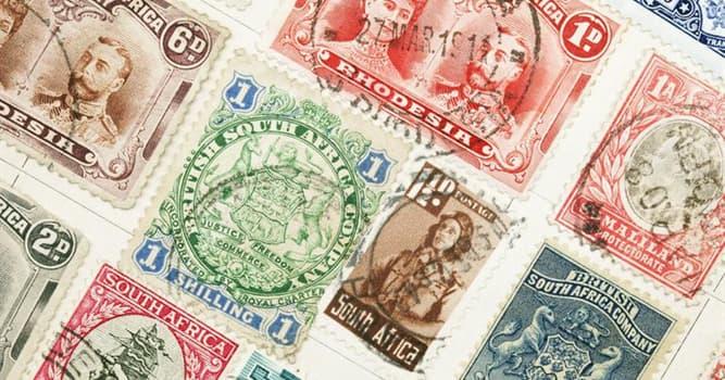 Geschichte Wissensfrage: Wann wurde die erste aufklebbare Briefmarke ausgegeben?