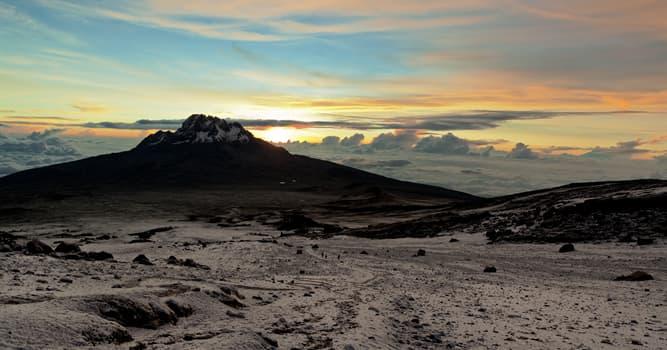 Natur Wissensfrage: Was ist der höchste Berg Afrikas?