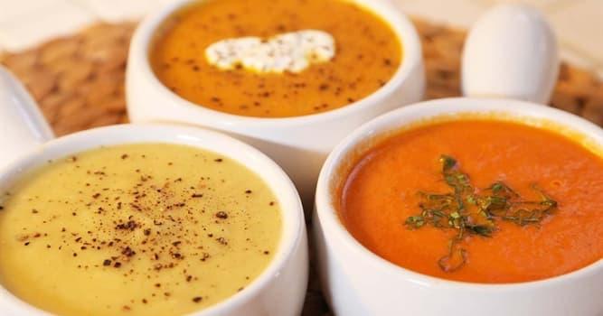Kultur Wissensfrage: Welches dieser Gerichte ist KEINE Suppe?