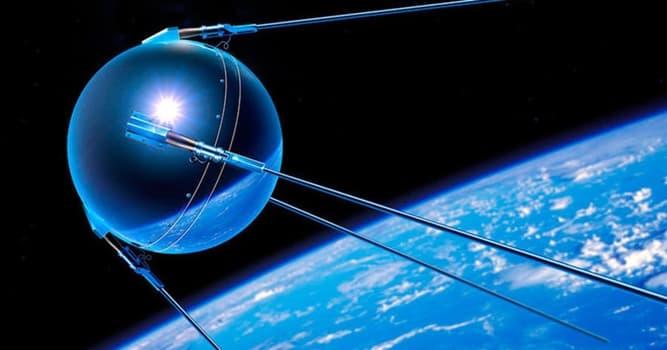 Geschichte Wissensfrage: Welches Land hat als erstes einen Satelliten gestartet?