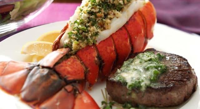 Cultura Pregunta Trivia: ¿Cuál es el nombre del plato de origen norteamericano que combina productos del mar y carnes rojas?