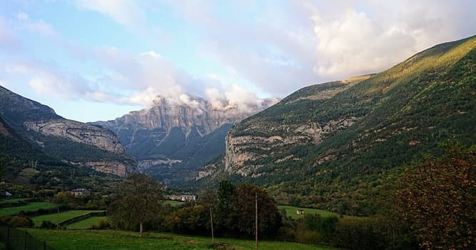 Nature Trivia Question: What kind of valley is Ordesa valley in the Spanish Pyrenees?