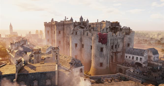 History Trivia Question: When was the first stone laid in building of the Bastille fortress?