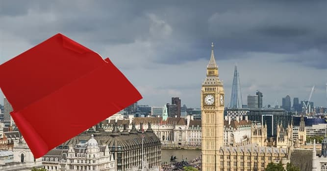 Geography Trivia Question: Which famous landmark of the UK is hidden in the picture?