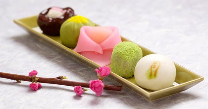 Culture Trivia Question: Which of these are traditional Japanese confections?