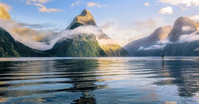 Geography Trivia Question: Which of these is the most famous fiord in New Zealand?