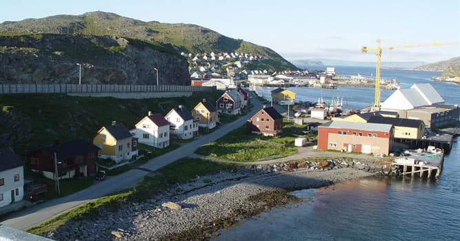 Geography Trivia Question: Which of these is the world's northernmost bridge located in Norway?