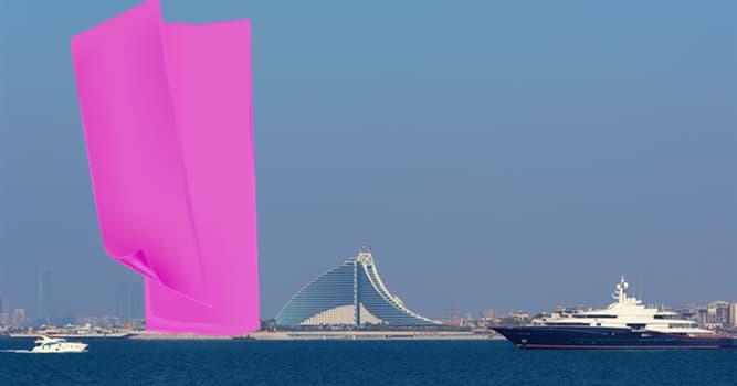 Geografía Pregunta Trivia: ¿Qué edificio emblemático de Emiratos Árabes Unidos está escondido en la imagen?