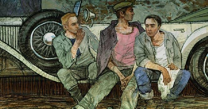 "Culture Trivia Question: Who wrote the novel ""Three Comrades""?"