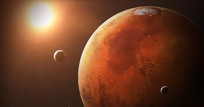 Wissenschaft Wissensfrage: Wie heißen die beiden Monde des Planeten Mars?