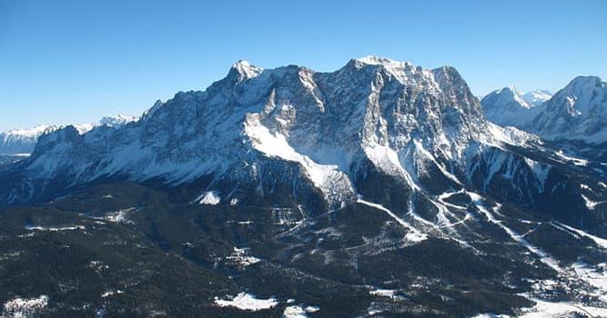 Geographie Wissensfrage: Wie heißt der höchste Berg Deutschlands?
