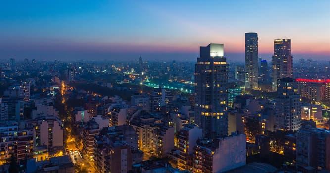 Geographie Wissensfrage: Wie heißt die Hauptstadt Argentiniens?