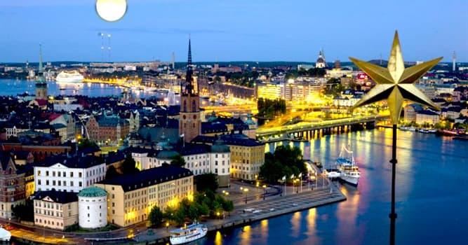 Geographie Wissensfrage: Wie heißt die Hauptstadt von Schweden?